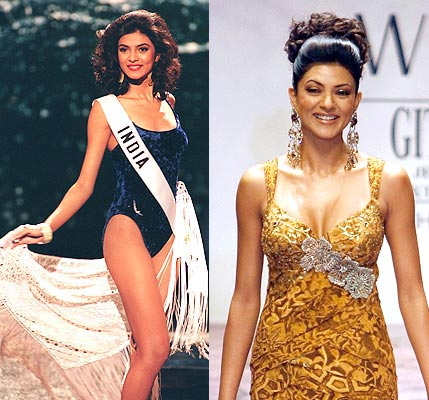 sushmita before and now
