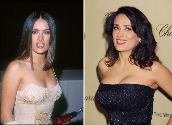 Salma-Hayek-breast-implants-surgery-before-and-after-boob-job-photos-1
