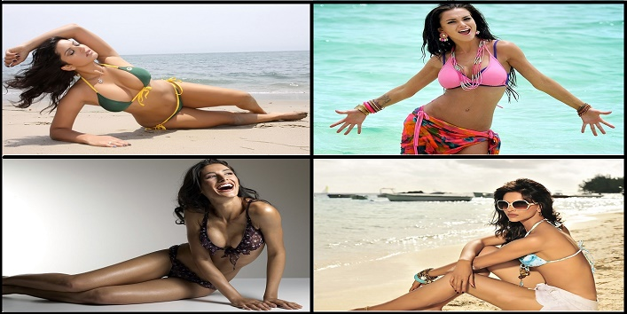 30 Hot Bollywood Actresses In Bikini