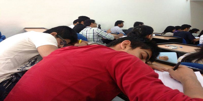 sleep in clas