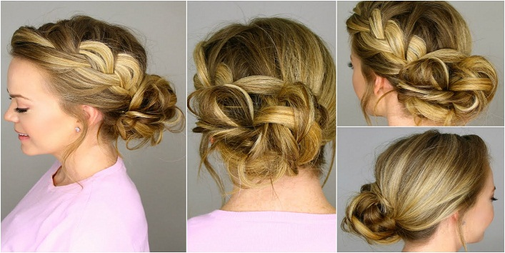 hairstyles for indo-western Outfits5