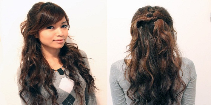 hairstyles for indo-western Outfits7
