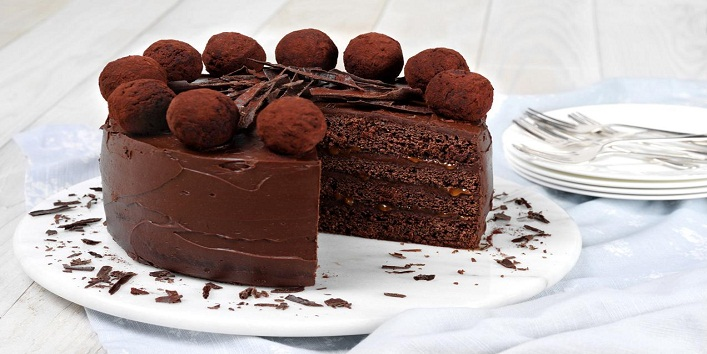 Eggless Chocolate Cake1