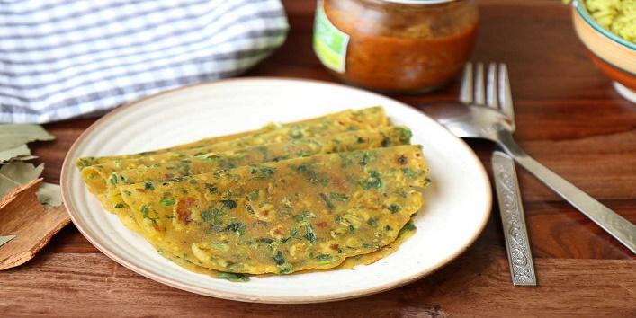 Garlic Mint Paratha