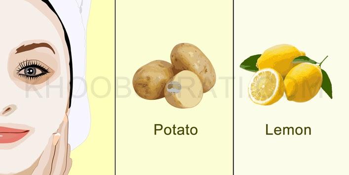 lemon-and-potato-face-mask