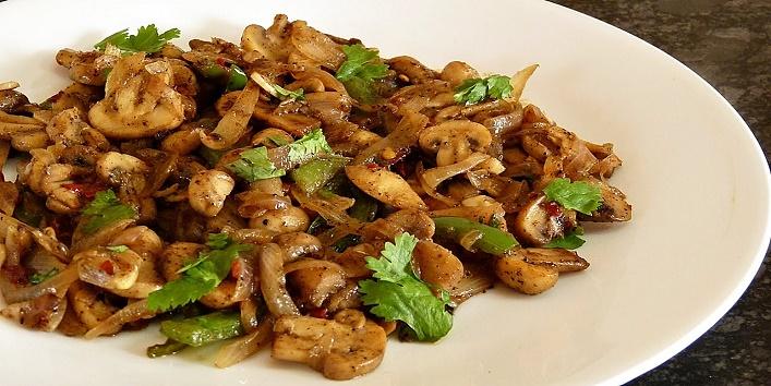 Mushroom Stir Fry1
