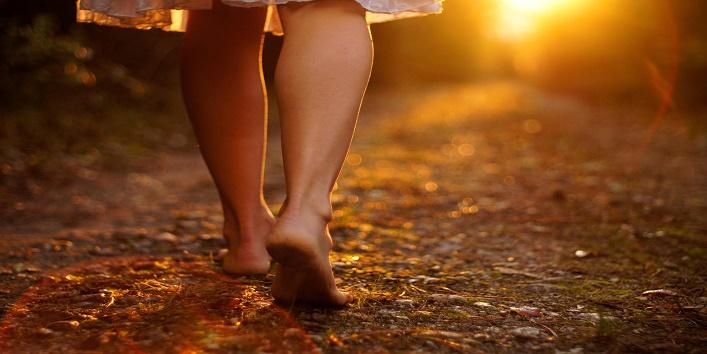 Walking Barefoot1