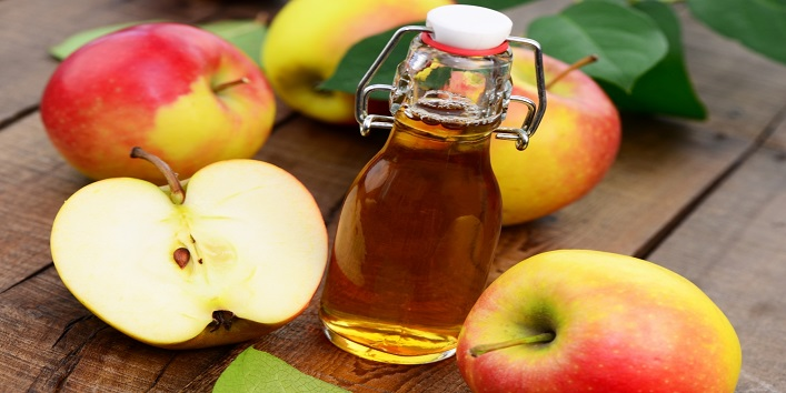 Apple Cider Vinegar for toning and eliminating bacteria