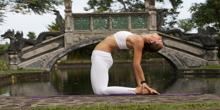 how to get firm breasts with Ustrasana