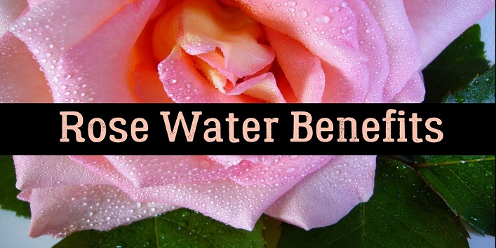 benefits of rose water