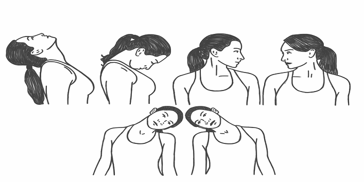 how to do neck rolls