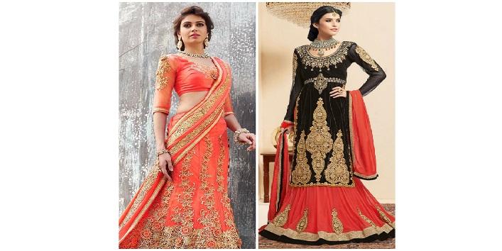 Create an illusion of Anarkali style