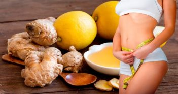 lemon and ginger detox water