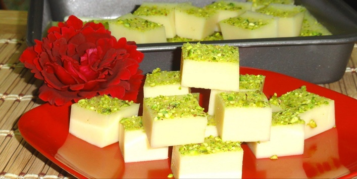 How-To-Make-Milk-Barfi-At-Home