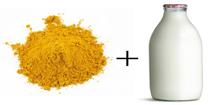 Milk-and-turmeric