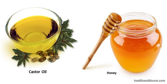 Honey-and-Castor-oil-mask