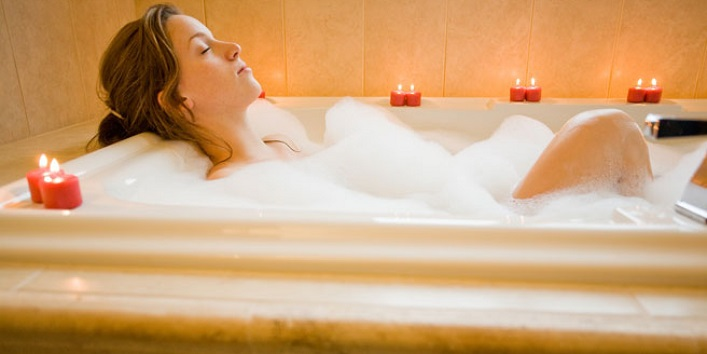 Try hot water bath