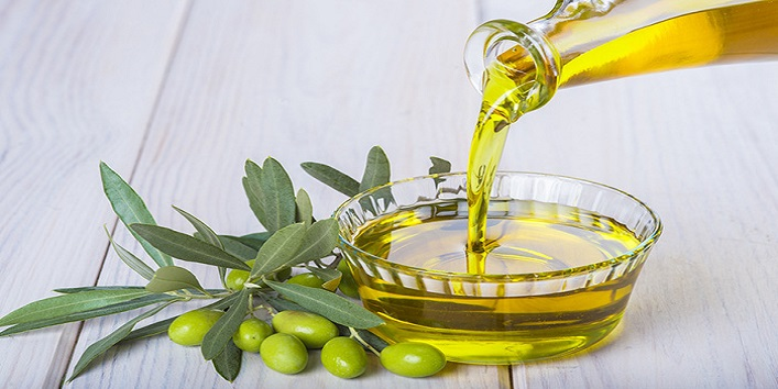 Olive oil for treating thin hair
