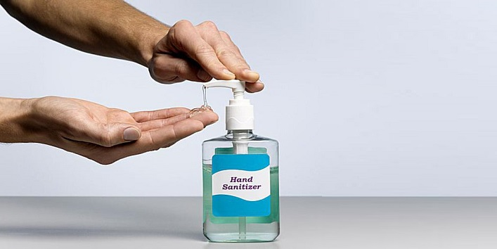 Always keep Hand Sanitizer handy