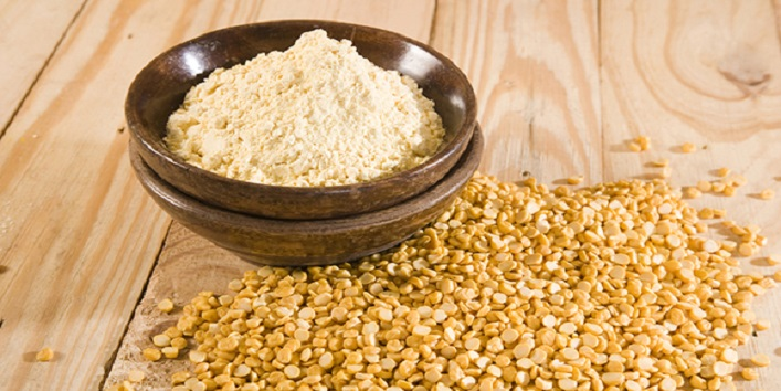 Gram flour for treating common skin condition