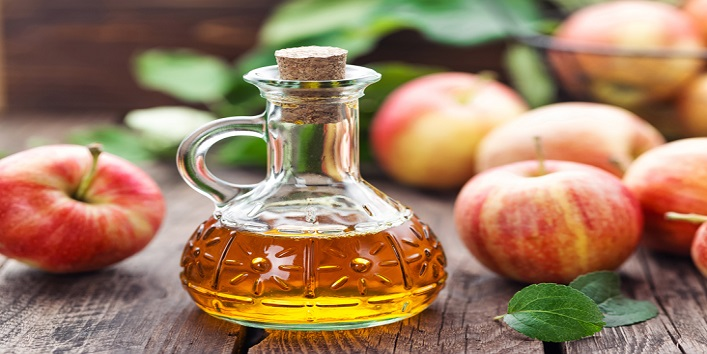 Apple cider vinegar for treating pimples