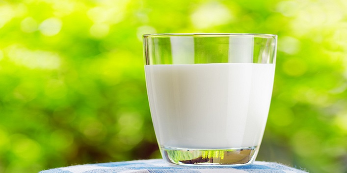 Milk to combat pimples
