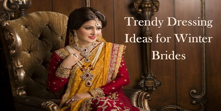 Trendy Dressing Ideas for Winter Brides
