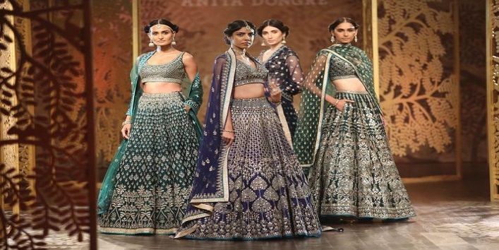 Lehenga with pockets