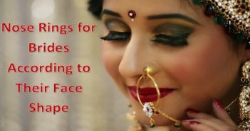 Nose Rings for Brides According to Their Face Shape
