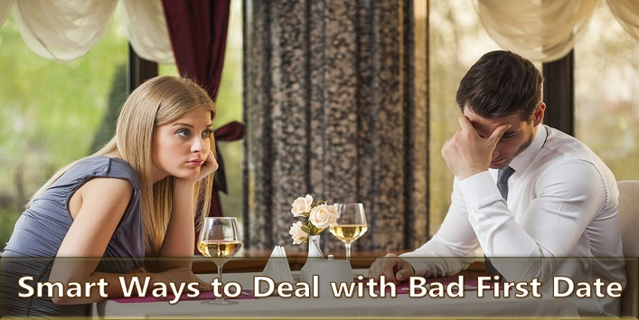 Simple Ways to Deal with Bad First Date- khoobsurati