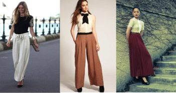 outfits to wear with palazzos