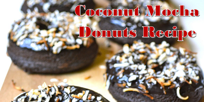 Coconut-Mocha-Donuts-Recipe