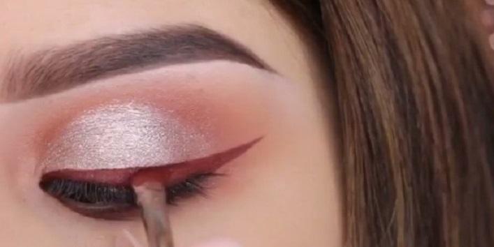 As an eyeliner