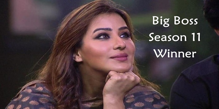 Shilpa Shinde Wins