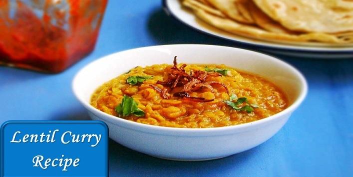 lentil curry recipe