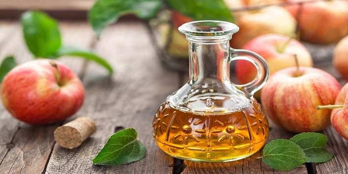 Apple cider vinegar for treating hair related problems