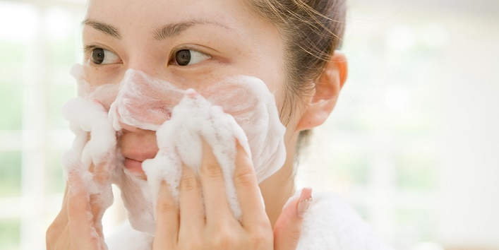 Now, use a face cleanser