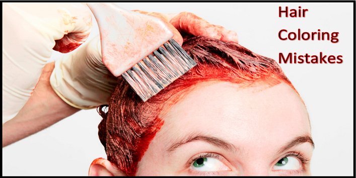 Hair Coloring Mistakes