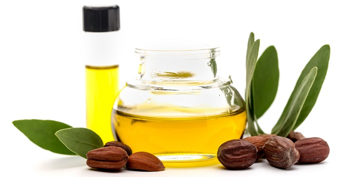 Jojoba essential oil to prevent saggy skin