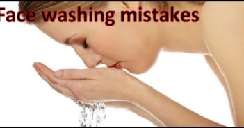 Face-Washing Mistakes