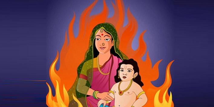 The story behind Holika Dahan