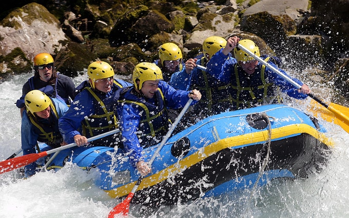 riverrafting | best places to visit in coorg Kesari-Tours