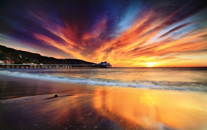 Malibu-In-California-Kesari-Tours | Best Places to Watch the Sunset