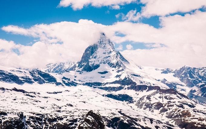 The-Matterhorn-kesari-tours | Places to visit in Switzerland
