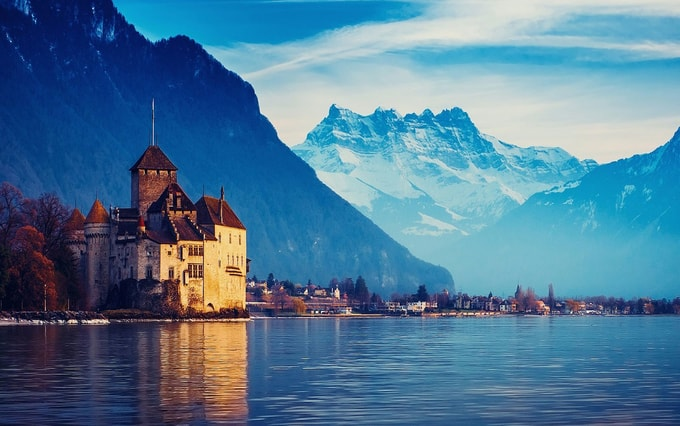 Lake-Geneva-kesari-tours | Places to visit in Switzerland