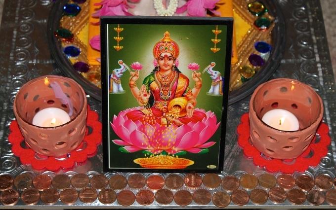 worship-of-goddess-lakshmi-kesari-tours | diwali celebration