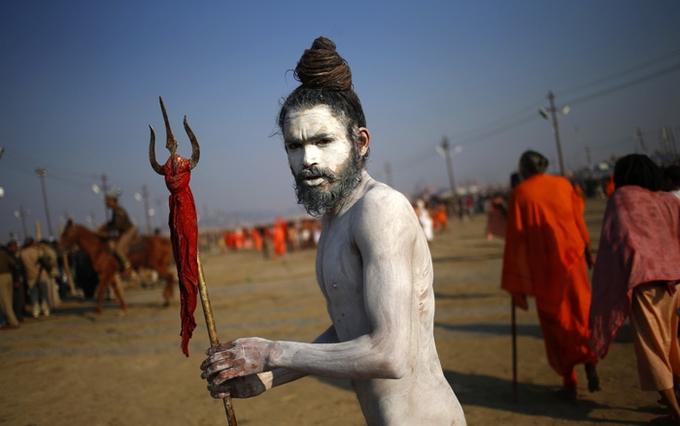 Naga-Sadhus-Kesari-Tours | Prayagraj Kumbh Mela