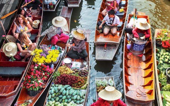 Floating Markets | southeast asia travel Kesari Tours