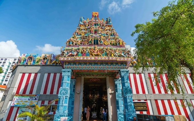 Sri Veeramakaliamman Temple - Little India Singapore