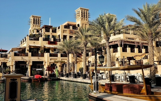 Souk at the Madinat Jumeriah - Dubai travel guide